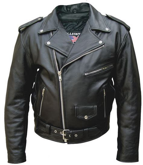 best leather motorcycle jacket mens tall size buffalo hide classic leather motorcycle