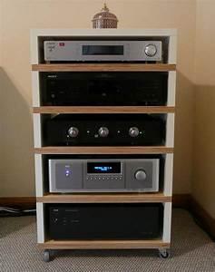 Hifi Rack Ikea : diy audio rack google search audio rack hifi furniture audio cabinet ~ Watch28wear.com Haus und Dekorationen