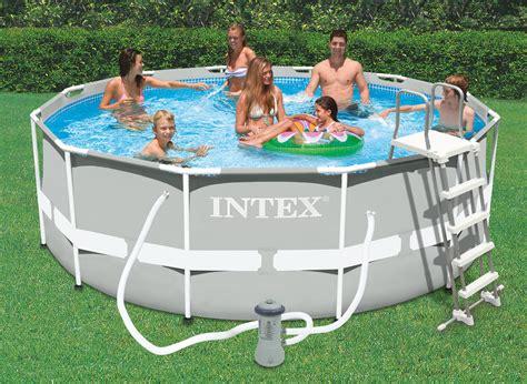 piscine intex tubulaire 3 66 intex piscine tubulaire 366 x 1 22 m