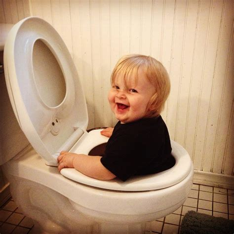 baby in the toilet a solution a day