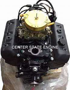 Reman Gm 4 3l  V6 Vortec Marine Engine W   Carb  Replaces