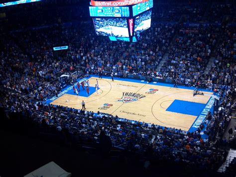 Thunder Basketball Court HD Desktop Wallpaper, Instagram ...