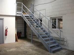 Escalier Métallique Industriel : escaliers industriels billiet escaliers d 39 art industriels ~ Melissatoandfro.com Idées de Décoration