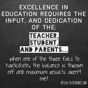 Excellence In E... Balanced Education Quotes