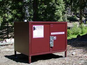 Locations of food storage boxes sequoia kings canyon for Kitchen cabinets lowes with yosemite national park sticker