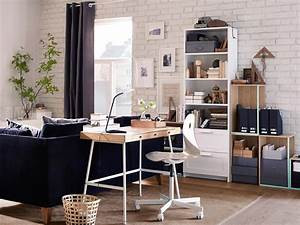 Schreibtisch Im Wohnzimmer Integrieren : 9 sch ne und funktionale ideen f r deinen arbeitsbereich ~ Bigdaddyawards.com Haus und Dekorationen