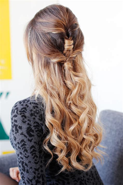 cute easy holiday hairstyle luxy hair