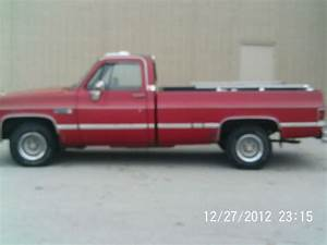 Find Used 1986 Chevy  Gmc Sierra C1500  K1500 Long Bed 305
