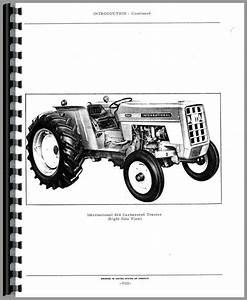 International Harvester 464 Tractor Parts Manual