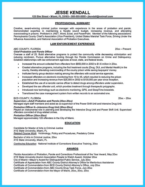 Entry Level Officer Resume by Correctional Officer Resume To Get Noticed