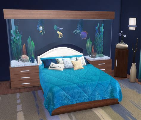 """""""Call of the Sea"""" Bedroom by Natalay   Liquid Sims"""