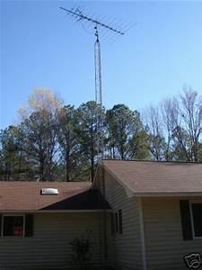 Antenna Tower 40 Ft Cb Tv Ham Radio Located In Georgia