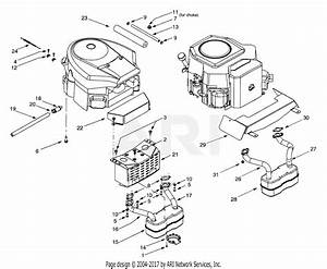 Mtd 14aw804h401  2001  Parts Diagram For Engine Accessories