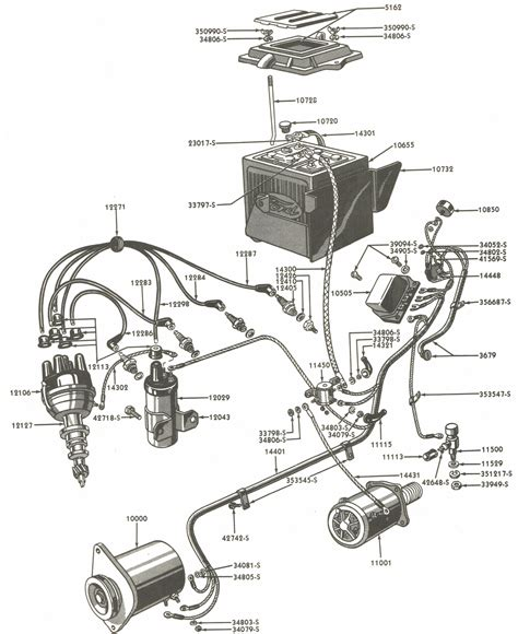 1954 Ford 600 Wiring Diagram by Ford Generator Wiring Diagram Wiring Schematics Diagram