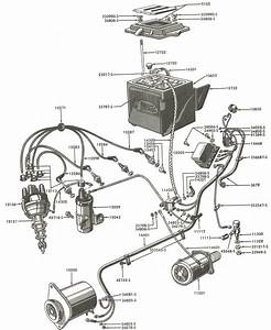 Fordson Major Wiring Diagram