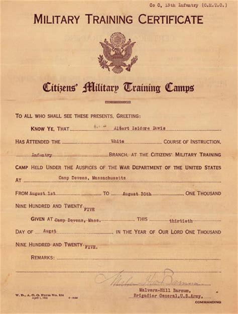 Boatswain Course by Veteran S Testimony Albert I Davis Ww2 Us
