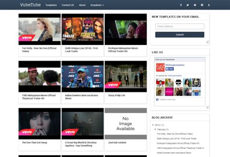 the series and movide site template vubetube template responsive video theme