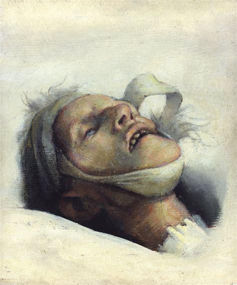 Study Of The Painter's Dead Mother  Robert Lenkiewicz