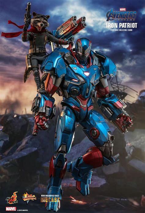 Hot Toys : Avengers: Endgame - Iron Patriot 1/6th scale ...