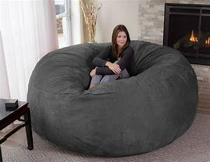 oversized enveloping chairs big bean bag With big soft bean bag chairs