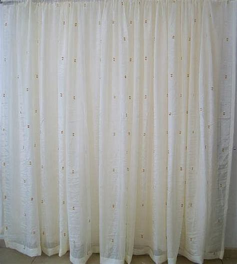Sheer Voile Curtains South Africa by Curtains Voile Curtains Block Crush 5m X 230cm