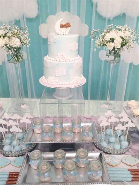 baby shower tables 31 cute baby shower dessert table d 233 cor ideas digsdigs