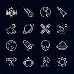 Space Vector Icons Graphics Graphic Specially Ux