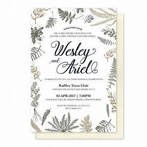 wedding invitation card bali chatterzoom With calligraphy wedding invitations singapore