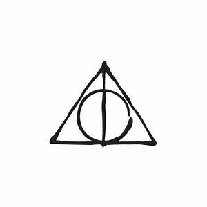 Deathly Hallows Symbol Harry Potter Hp Decal Sticker Liked ...