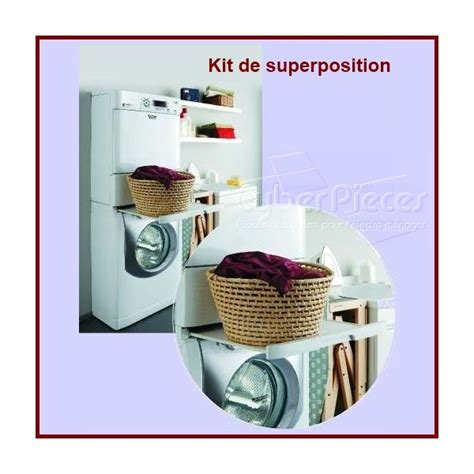 kit de superposition lave linge kit superposition lave linge seche linge 28 images kit de superposition socle lave linge