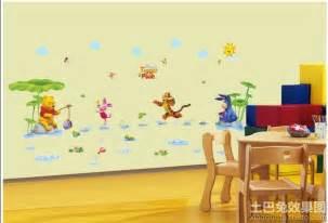 baby bedroom ideas 幼儿园室内墙面布置图片 土巴兔装修效果图