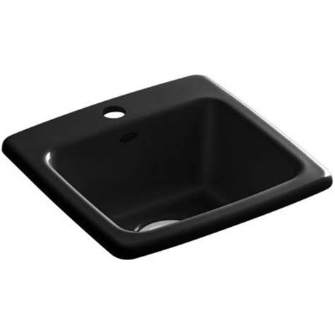 Home Depot Drop In Bar Sink by Kohler Gimlet Top Mount Acrylic 15 In 1 Single Bowl
