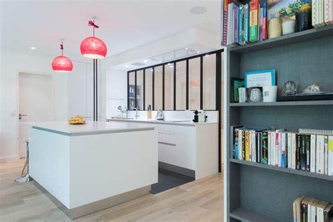cuisine ouverte avec ilot table armony cucine skconcept réalisation d 39 une cuisine design
