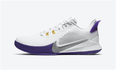 "Nike Mamba Fury ""Lakers Home"": Official Images & Release Info"