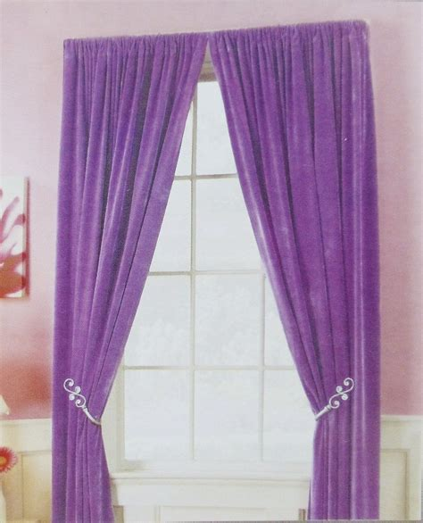 sweet violet bedroom curtain  collection
