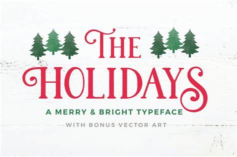 holidays  christmas typeface display fonts creative market