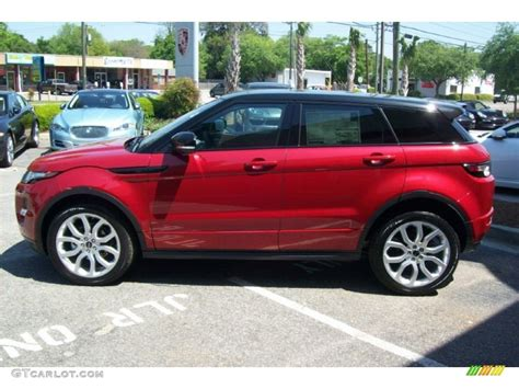 red land rover 2012 firenze red metallic land rover range rover evoque