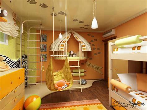 Try arranging twin beds in an l shape as pictured in this spacious and functional boys' room from decorating your small space. 26 Best Girl and Boy Shared Bedroom Design Ideas - Decoholic