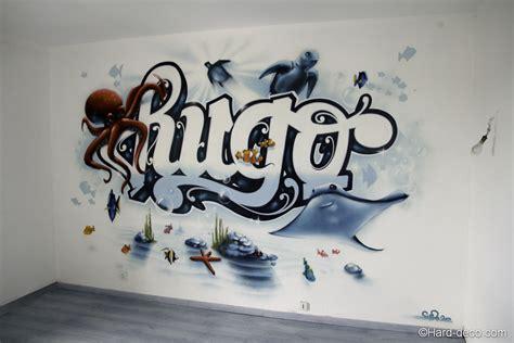 deco chambre marin pin chambre graffiti fond marin deco on