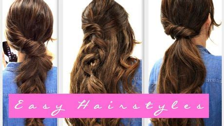 simple n easy hairstyles for long hair
