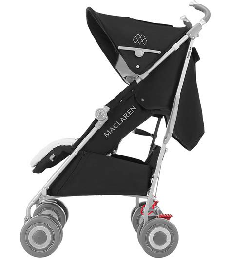 siege auto maclaren xlr maclaren 2016 2017 techno xlr stroller black silver