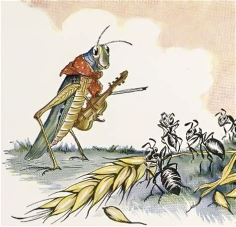 the ant and the grasshopper fables of aesop