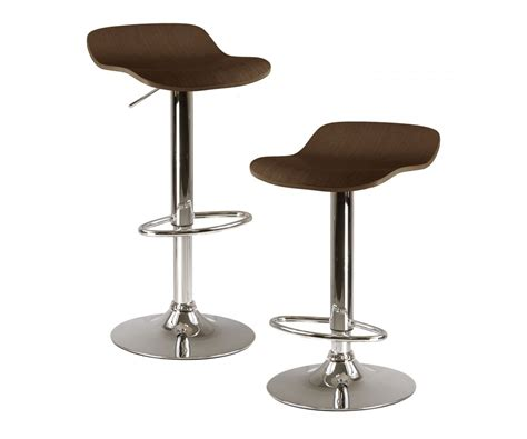 Winsome Wood Kallie Air Lift Adjustable Bar Stool (set Of 2