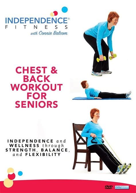 seniors chest workout fitness independence level