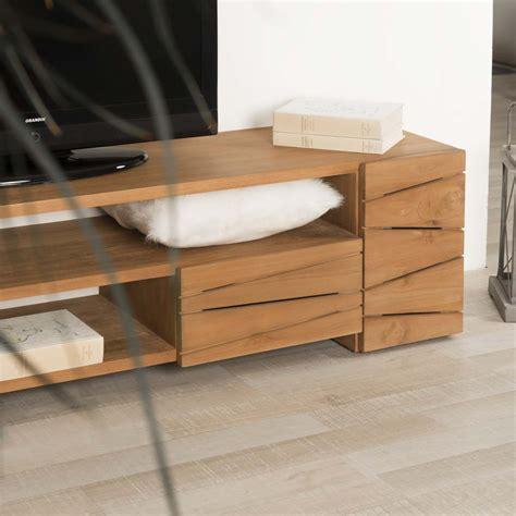 chambre en teck meuble tv bois massif teck idées de décoration et de