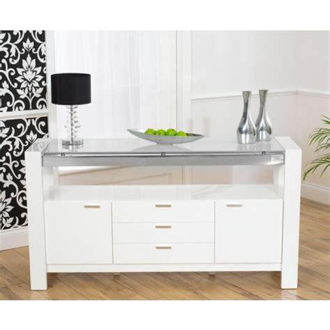 High Gloss White Sideboard by White High Gloss Sideboard