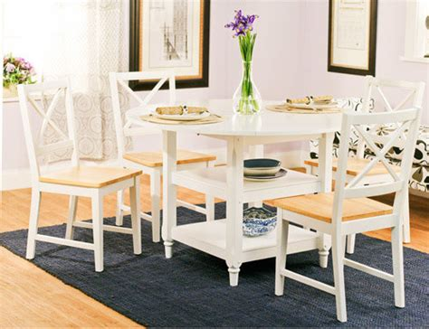walmart kitchen table chairs cottage 5 piece dining set white and natural