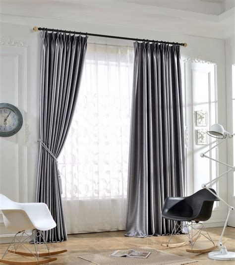sparkle blakcout curtains  living room silk modern