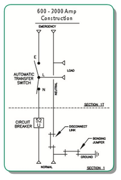 3 Pole Automatic Transfer Switch Wiring Diagram by 1600 Asco 300 Service Entrance Automatic
