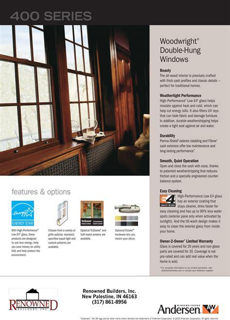 renowned builders  custom homes andersen replacement windows home remodeling